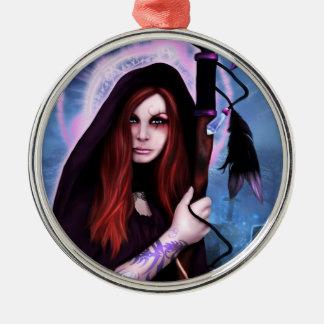 Black Magic Woman Ornament