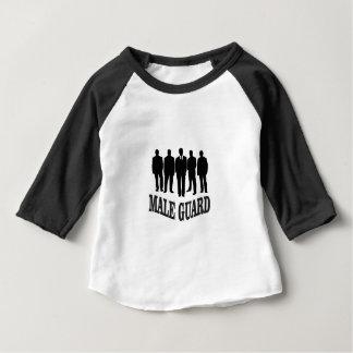 black male guard baby T-Shirt