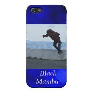 Black Mamba Skateboarder iPhone 5 Covers