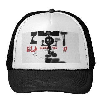 Black Man Cartoon CAP