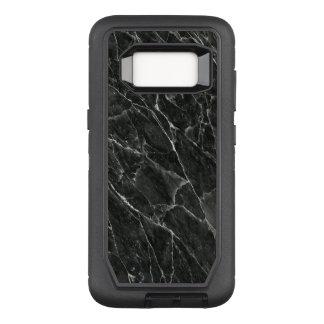 Black Marble OtterBox Defender Samsung Galaxy S8 Case