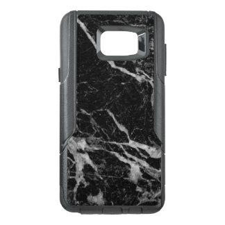 Black Marble Print Modern Design GR2 OtterBox Samsung Note 5 Case