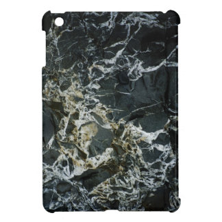 BLACK MARBLE ROCK iPad Case