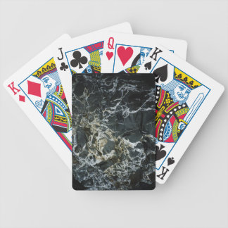 BLACK MARBLE ROCK Pack Of Cards