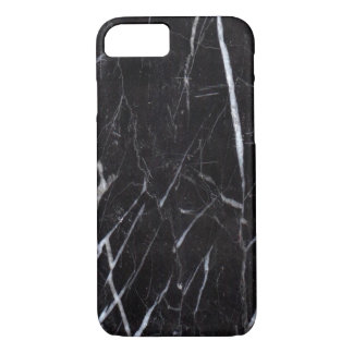 Black Marble Stone Grain/Texture iPhone 8/7 Case