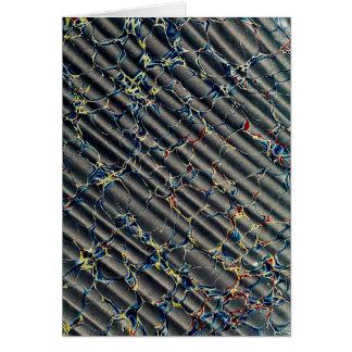 Black Marbled Paper Pattern Card