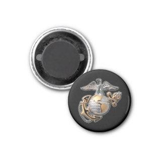 Black Marine Corps EGA Magnet