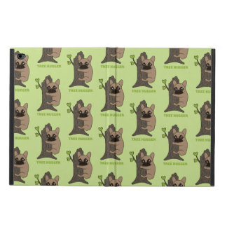 Black mask fawn Frenchie is a cute tree hugger Powis iPad Air 2 Case