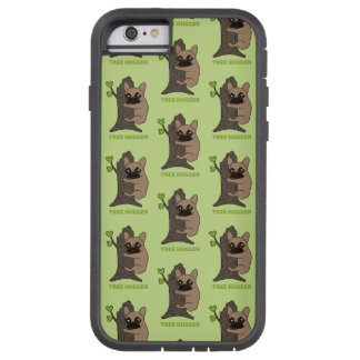 Black mask fawn Frenchie is a cute tree hugger Tough Xtreme iPhone 6 Case