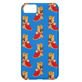 Black mask fawn Frenchie is the King of the house iPhone 5C Case