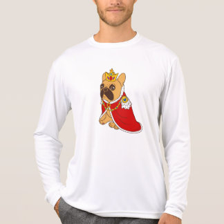 Black mask fawn Frenchie is the King of the house T-Shirt