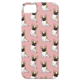 Black Mask Pied French Bulldog Wants Your Love iPhone 5 Cover