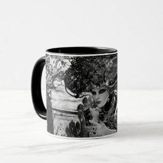Black Masquerade Combo Mug