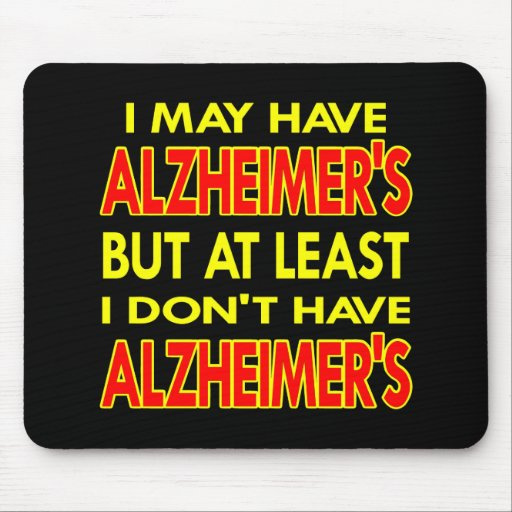 Black May Have Alzheimers Mouse Mats