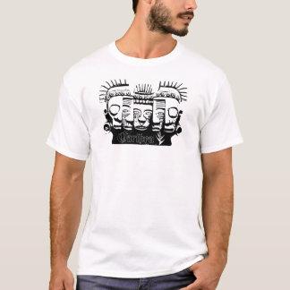 Black Mayan Masks T-Shirt