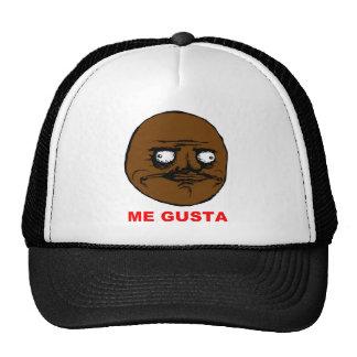 Black Me Gusta Rage Face Meme Mesh Hat