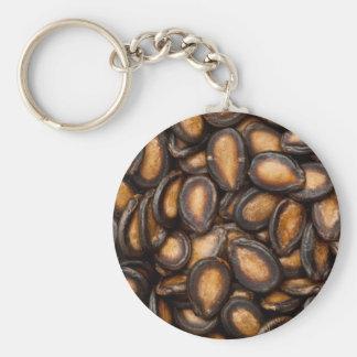 Black melon seeds key ring