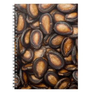 Black melon seeds notebooks