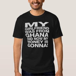 Black Men's Ghana Money T-Shirt! Tee Shirts