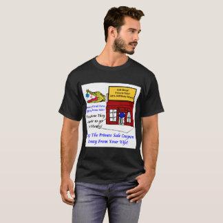 Black Men's T-Shirt Private Sale Coupon