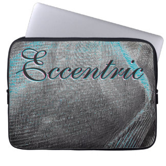 Black Merc Eccentric Laptop Sleeve