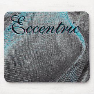 Black Merc Eccentric Mouse Pad