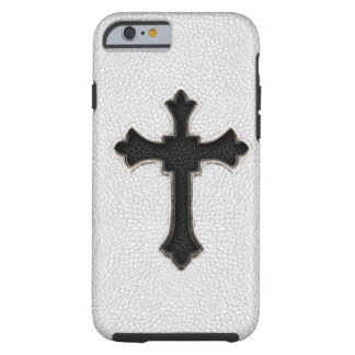 Black Metal Cross Tough iPhone 6 Case