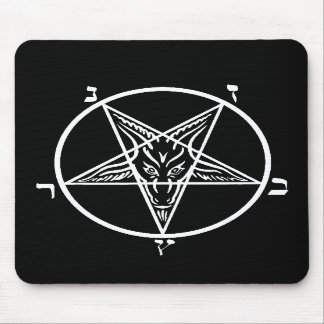 Black metal evil mousepad SATAN!!