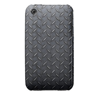 black metal iPhone 3 Case-Mate case