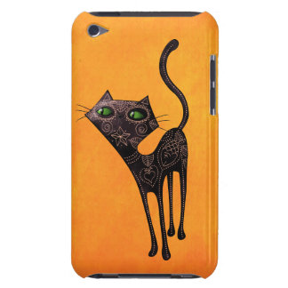 Black Mexican Day of The Dead Cat Case-Mate iPod Touch Case