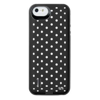 Black Mini Dots iPhone SE/5/5s Battery Case