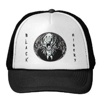 Black Misery Hat