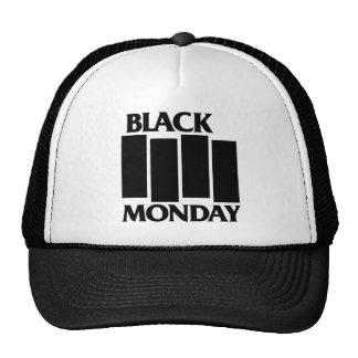 Black Monday Black Flag trucker hat