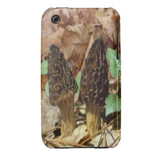 Black Morels iPhone 3 Case-Mate Case