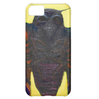 Black Moth (surreal insect painting) iPhone 5C Case