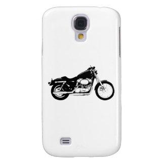 Black Motorcycle Samsung Galaxy S4 Case