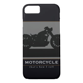 black motorcycle iPhone 7 case