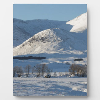 Black Mount , Scotland 8161 Plaque