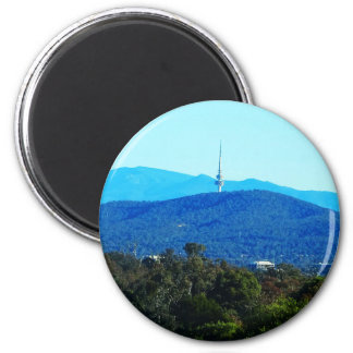 Black Mountain – Canberra 6 Cm Round Magnet