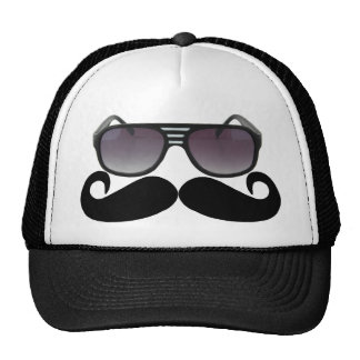 Black Mustache or Black Moustache for Fun Gifts Tr Cap
