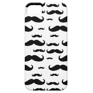 Black Mustache Pattern iPhone 5 Case