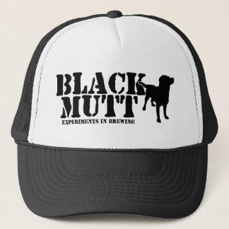Black Mutt Trucker Hat