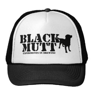 Black Mutt Trucker Hat