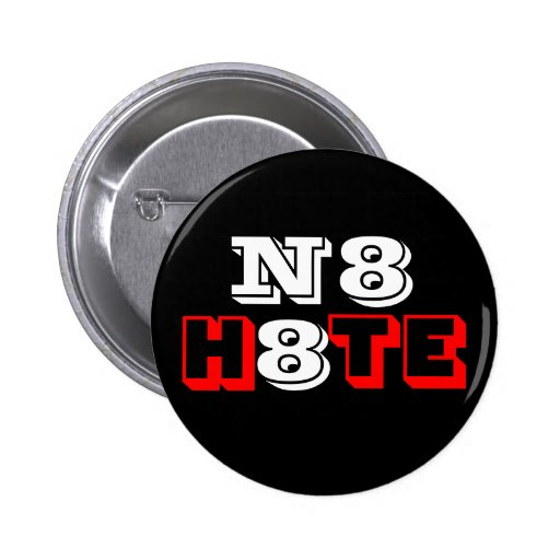 Black N8 H8TE Pin