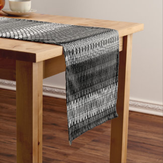 "Black n White Design - 14"" X 72"" Table Runner"