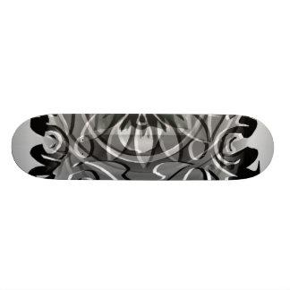 Black N White Imagination Skate Board Deck