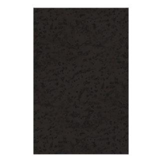 Black Natural Cork Bark Look Wood Grain 14 Cm X 21.5 Cm Flyer