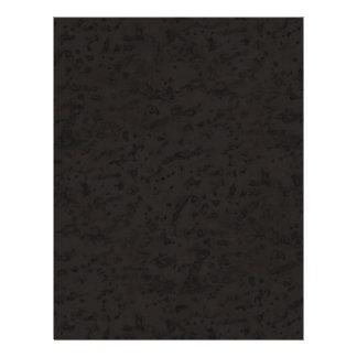 Black Natural Cork Bark Look Wood Grain 21.5 Cm X 28 Cm Flyer