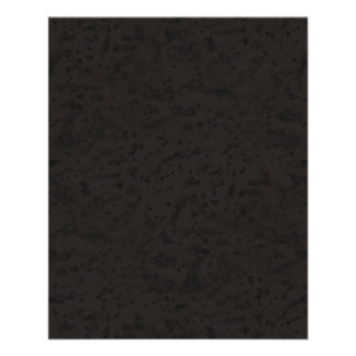 Black Natural Cork Bark Look Wood Grain Flyer