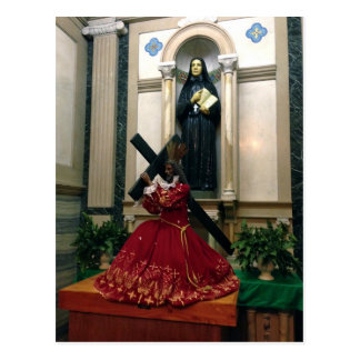 Black Nazarene, Greenwich Village Church, Postcard
